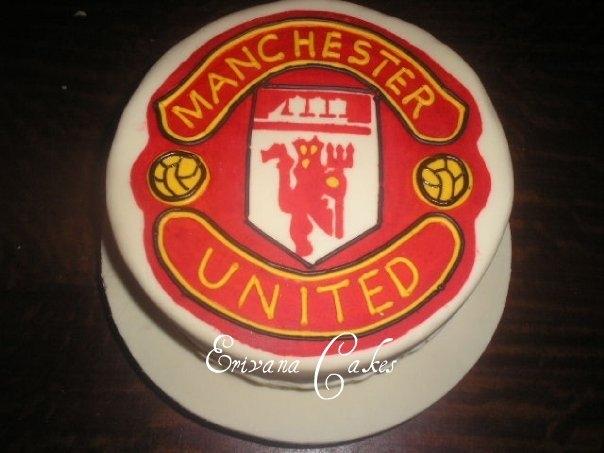 Manchester United cake(SP058)